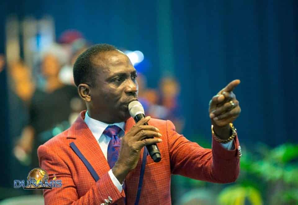 Photo of Prayer and the Blessing by Dr Paul Enenche