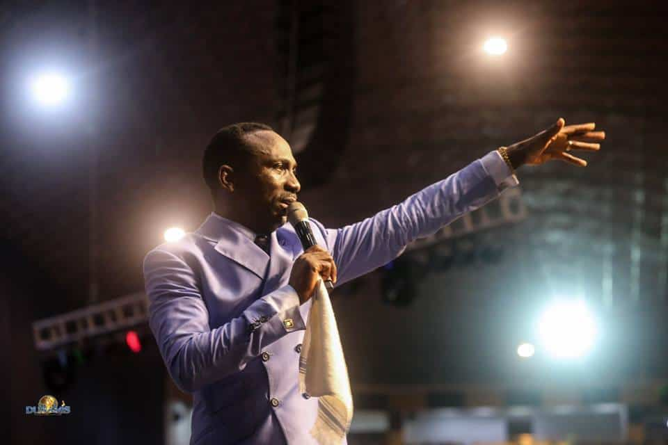 Photo of Blessing for the Top by Dr Paul Enenche