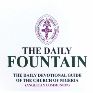 Anglican Daily Fountain Devotional 12th October 2020