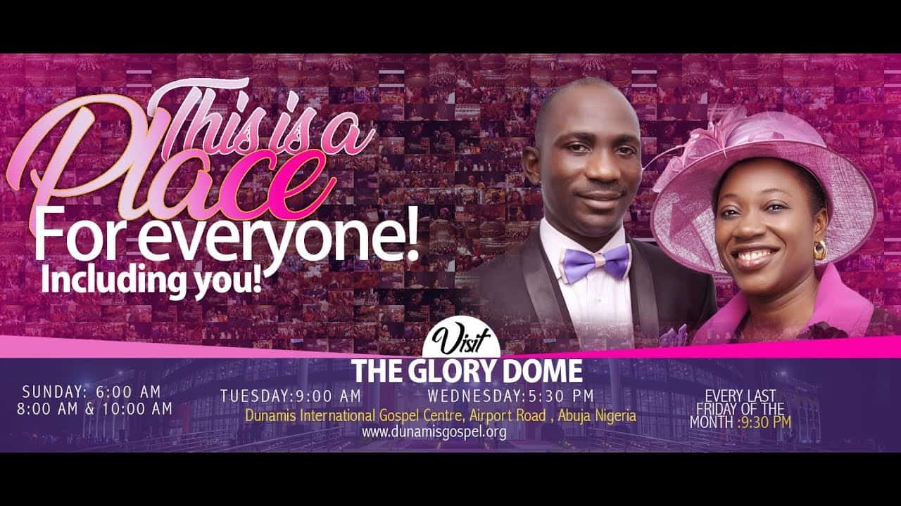 Photo of Dunamis Sunday Service 20 September 2020 Live at Glory Dome