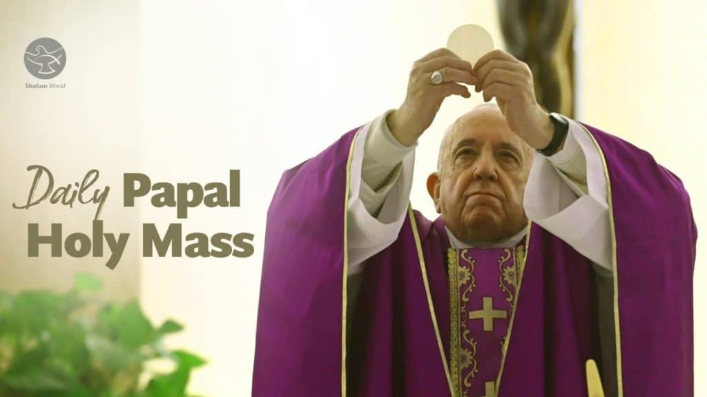Daily Mass 17 May 2020 by Pope Francis