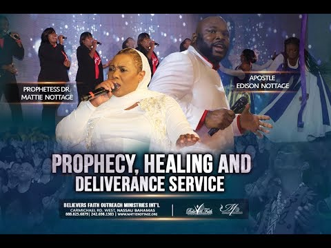 Midnight Prayer Healing & Deliverance Service with Apostle Edison & Prophetess Mattie Nottage