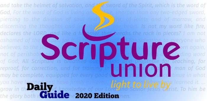 Scripture Union Daily Guide 12th October 2020, Scripture Union Daily Guide 12th October 2020 – Live and work for God, Premium News24
