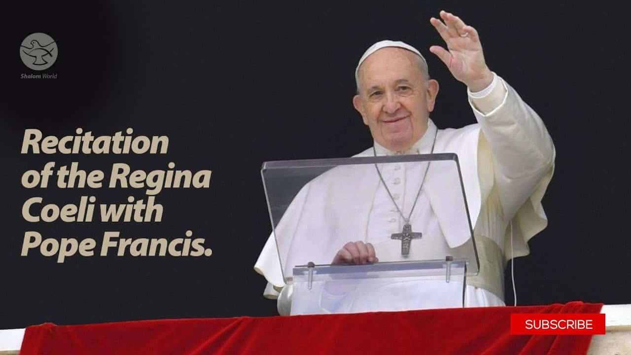 31 May 2020 Recitation of the Regina Coeli with Pope Francis