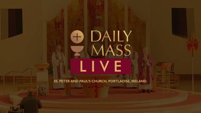 Catholic Live Daily Holy Mass 15th December 2020 - St Peter & Paul's Church Ireland