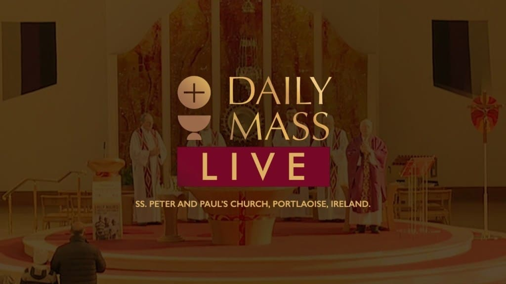 Catholic Mass Monday 19 April 2021 Live from St Peter & Paul's Church