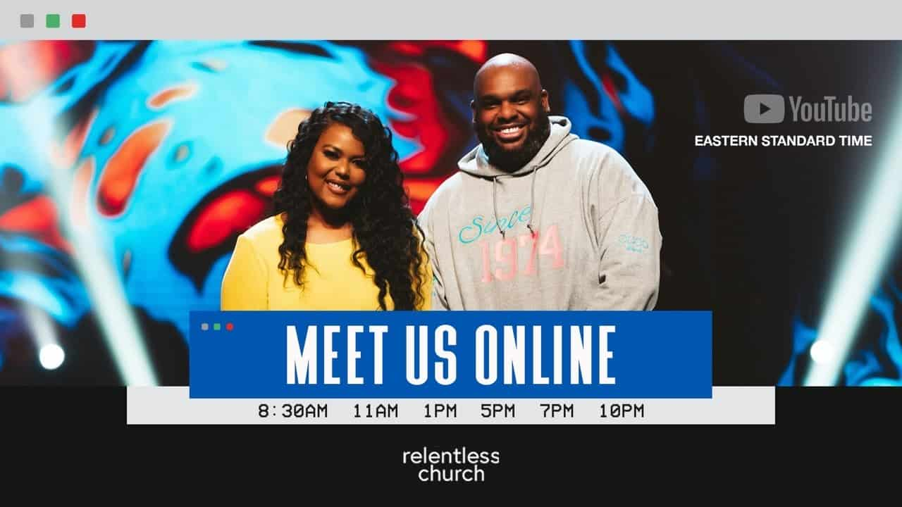 Relentless Church Live Sunday Service with John Gray