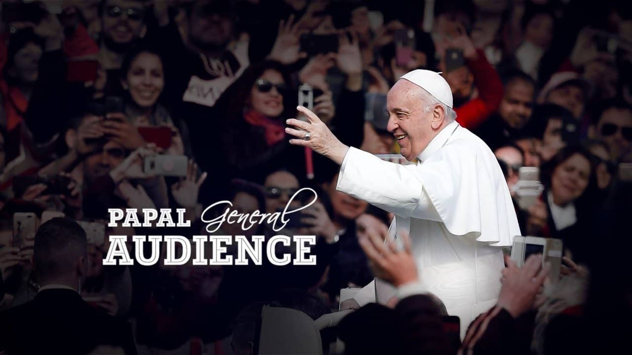 General Audience with Pope Francis from Vatican 10th June 2020