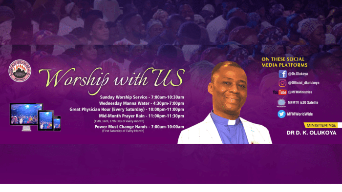 MFM Live Sunday Service 18 October 2020, MFM Live Sunday Service 18 October 2020 with Dr. D.K Olukoya, Premium News24