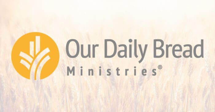 Our Daily Bread 3rd November 2020 Devotional