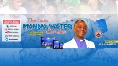 Watch MFM Manna Water Service 20th January 2021 with Dr D.K Olukoya
