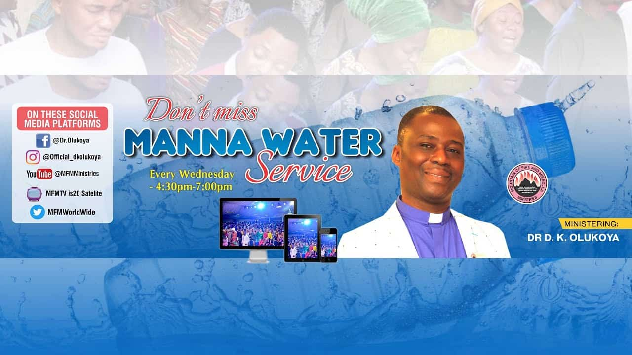 MFM Manna Water Service 17th February 2021 With Dr D.K Olukoya