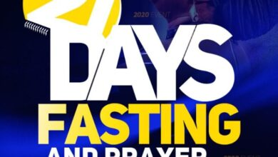 Dunamis 21 Days Fasting And Prayer Points 15th January 2021 – Day 12