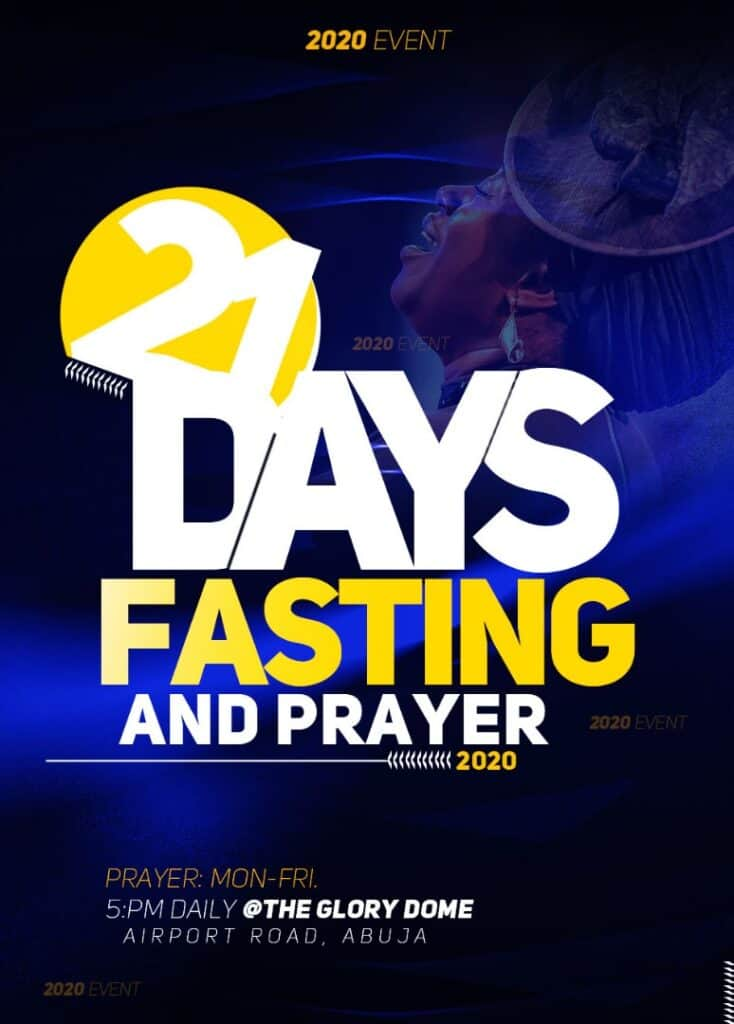 Dunamis 2021 Fasting And Prayer Points for 10th January 2021