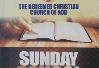 RCCG Sunday School TEACHER Manual 24 January 2021
