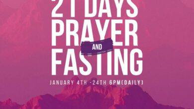 Winners Chapel 2021 Fasting And Prayer Points 15th January 2021 – Day 12