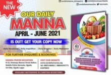 Our Daily Manna 21 April 2021 ODM Devotional