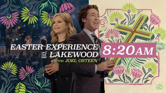 Easter Experience 4th April 2021 at Lakewood Church with Joel Osteen